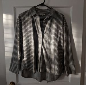 Madewell Flannel Button Up - Size S